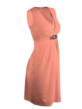 570e75454666 ... Queen Mum - Peach slávnostné šaty na dojčenie