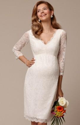 Chloe tehotenské svadobné šaty krátke e090a598867