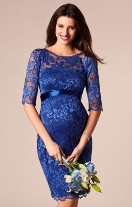 7447bc1bfead Windsor blue spoločenské šaty pre tehotné