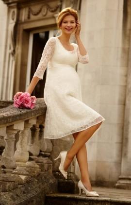 Freya svadobné šaty pre tehotné krátke a734bf08022