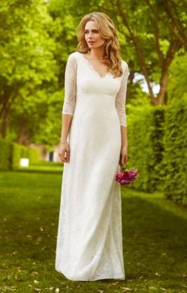 Anya čipkované svadobné šaty dlhé Alie Street - Anya čipkované svadobné  šaty dlhé ... 5dfde75cb61