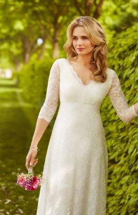 ... Alie Street - Anya čipkované svadobné šaty dlhé ... 0849c965311