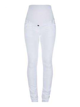 319d87e3fe06 Superskinny tehotenské nohavice biele Love2wait - Superskinny tehotenské  nohavice biele ...