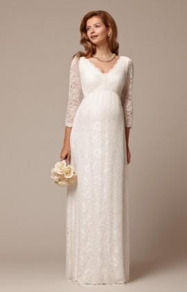 Chloe dlhé tehotenské svadobné šaty d41d7280ef2