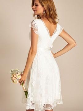 ... na malú svadbu - Eden tehotenské svadobné šaty krátke ... 3d2fa262e20
