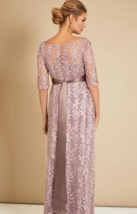 ... čipkované šaty na ples - Tehotenské večerné šaty dlhé Asha lilac ... 0524ea5da6e