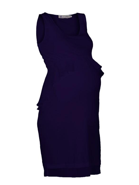 Queen Mum Party dress slávnostné šaty modré , veľkosť L/40