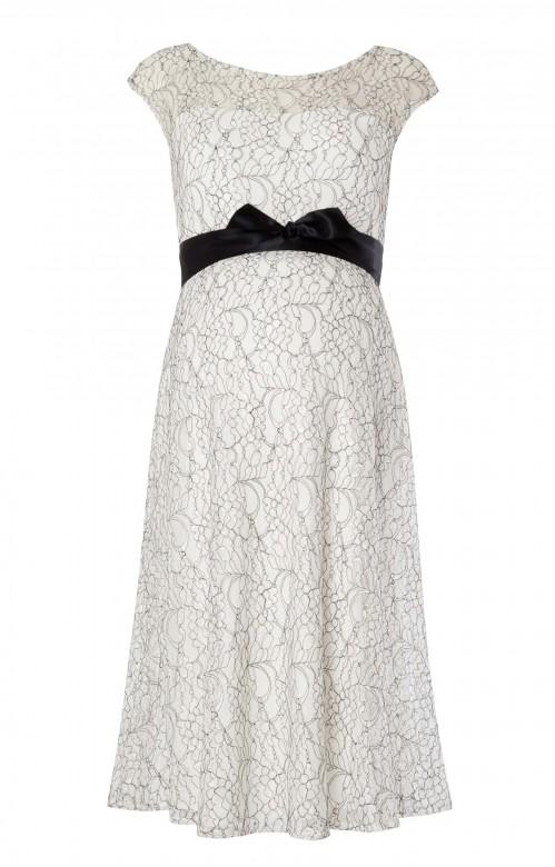 Tiffany Rose Daisy tehotenské šaty krátke, veľkosť XL/XXL