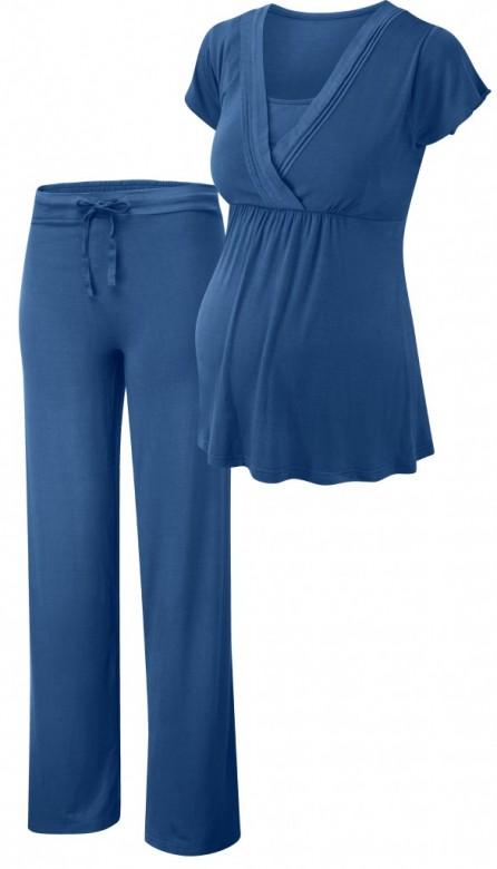 Amoralia Summer frill pyžamo pre dojčiace mamičky, veľkosť L/40