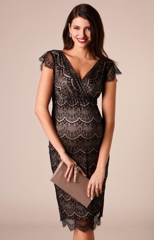 Tiffany Rose Imogen čipkované spoločenské šaty, veľkosť S/M