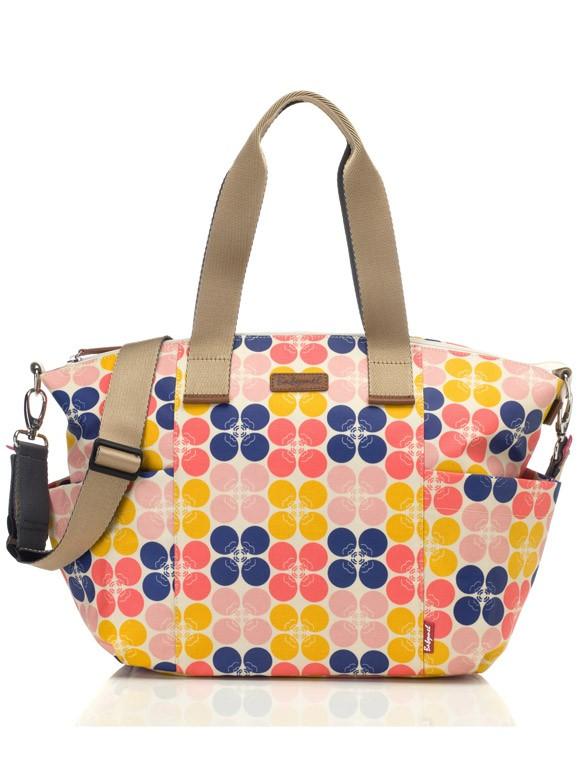 Babymel Evie floral dot fruity prebaľovacia taška