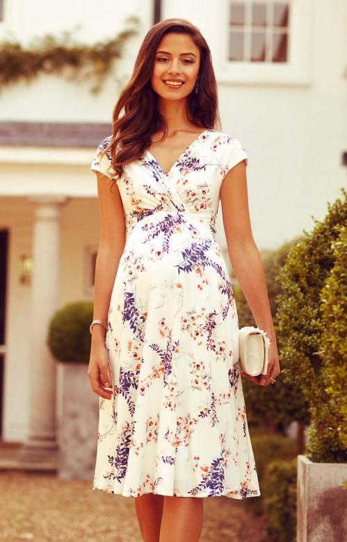 Tiffany Rose Alessandra kvetinové šaty tehotenské, veľkosť L/XL