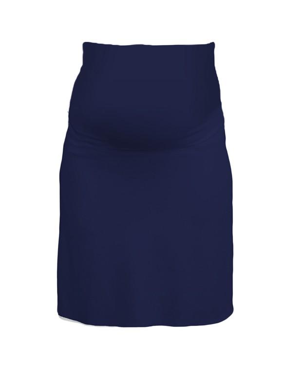 Queen Mum Villy Basic tehotenská sukňa kobalt, veľkosť S/36