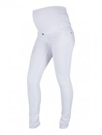 5d08cfa72c68 ... Superskinny tehotenské nohavice biele ...