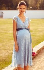 4c4b99a24367 Eden dusk blue tehotenské šaty na svadbu