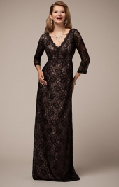 00f872c55399 Chloe noir tehotenské večerné šaty na ples