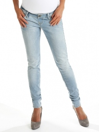 Light blue denim slim